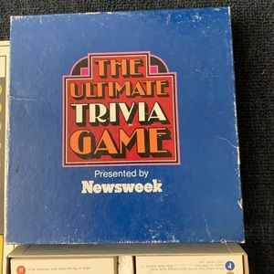 Vintage The Ultimate Trivia Game